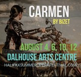 Carmen, an opera by Georges Bizet